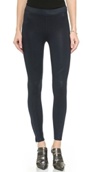 David Lerner New Seamed Leggings Navy