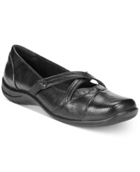 Easy Street Shoes Easy Street Marcie Flats Women's Shoes Black