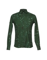 Roberto Pepe Shirts Green
