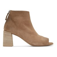 Marsell Tan Suede Stuzzico Sandal Boots