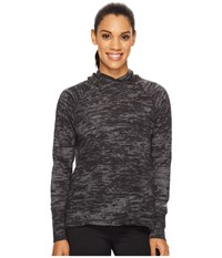 New Balance Hatha Hoodie Black Heather Women's Sweatshirt