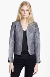 Zadig And Voltaire Women's 'Venci' Crop Leather Jacket