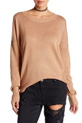 One Teaspoon Rocky Pullover Sweater Brown