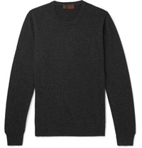 Altea Cashmere Sweater Charcoal