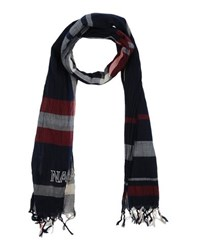 Napapijri Accessories Oblong Scarves Men Dark Blue