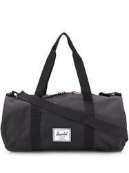 Herschel Supply Co. Sutton Logo Patch Holdall Black