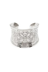 Forever 21 Floral Curved Cuff