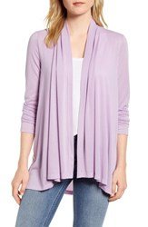 Gibson X Living In Yellow Claire Open Cardigan Spring Crocus