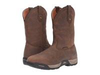 Dan Post Hudson Waterproof Steel Toe Tan Men's Boots