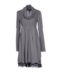 Guardaroba Dresses Short Dresses Women Grey