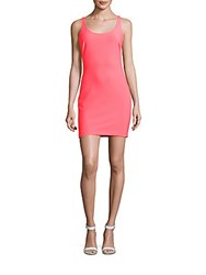 Likely Solid Tank Dress Pink