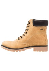 Mtng Laceup Boots Karma Beige