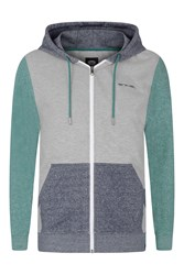 Animal Hoody Full Zip Grey Marl