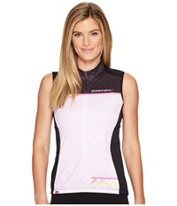 Louis Garneau Zircon Sleeveless Jersey Geometry Women's Sleeveless Black