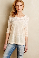 Hazel Edda Lace Top Ivory