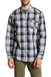 Burnside Robert Long Sleeve Regular Fit Shirt Gray