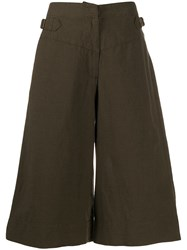 Margaret Howell Clinched Waist Cropped Trousers 60