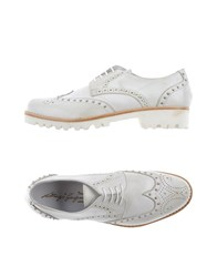 Gianfranco Lattanzi Footwear Lace Up Shoes Women White