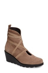Toni Pons Women's Blanca Wedge Boot Taupe Suede