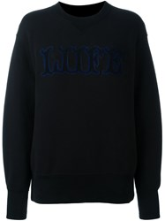 Sacai Liife Sweatshirt Blue