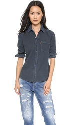 Levi's 1960S Chambray Shirt Black Overdye