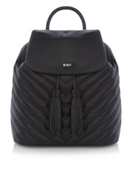 Biba Quilted Backpack Black