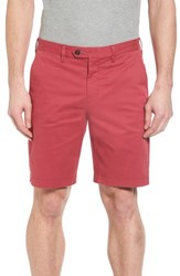 Ted Baker London Proshor Slim Fit Chino Shorts Red