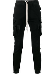 Rick Owens Cargo Pocket Trousers Black