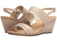 Bandolino Greedson Oat Super Nappa Synthetic Faux Suede Shoes Beige