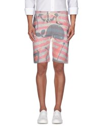 Bob Strollers Bob Trousers Bermuda Shorts Men Salmon Pink