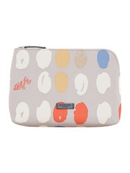 Radley Dna Grey Large Zip Cosmetic Case Grey