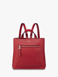 Fiorelli Finley Mini Zip Top Backpack Red