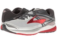 Brooks Ravenna 8 Silver Anthracite High Risk Red Men's Running Shoes