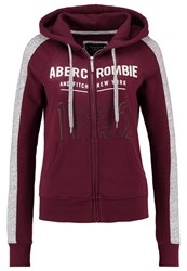 Abercrombie And Fitch Core Tracksuit Top Red
