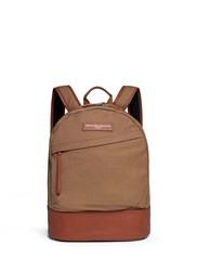 Want Les Essentiels 'Kastrup' Canvas Backpack Brown
