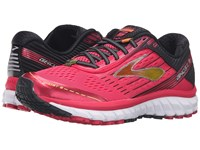 Brooks Ghost 9 Azalea Black Cyber Yellow Women's Running Shoes Pink
