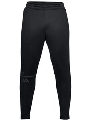 Under Armour Tech Terry Tracksuit Bottoms Black Anthracite