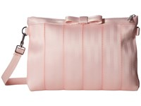 Harveys Seatbelt Bag Bow Clutch Rose Quartz Clutch Handbags Pink