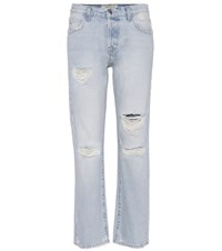 Current Elliott Distressed Jeans Blue