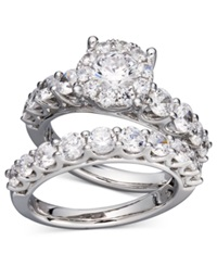 Prestige Unity Diamond Bridal Ring Set In 14K White Gold 2 Ct. T.W.