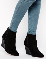 Whistles Helene Wedged Ankle Boots Black