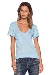 Bobi Light Weight Jersey Tee Blue