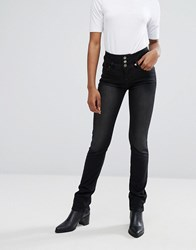 B.Young Straight Jeans Faded Black