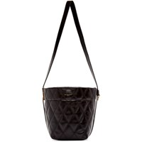 Givenchy Black Quilted Mini Gv Bucket Bag