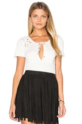 Free People Blast From The Past Top Ivory