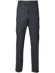 Marni Wool Felt Trousers Grey