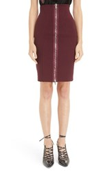 Givenchy Women's Zip Front Pencil Skirt