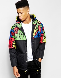 Lazy Oaf Mac With Printed Panel Blackmulti