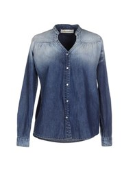 Ottod'ame Denim Denim Shirts Women