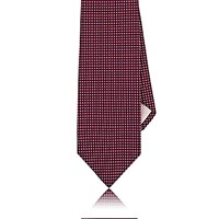 Fairfax Men's Neat Jacquard Necktie Red